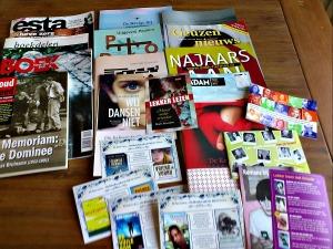 Catalogi van de verschillende uitgevers