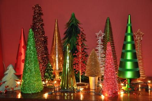 Kerstbomen!