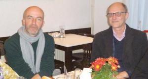 Arjan Visser en Lex Jansen